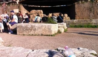 Tourismus ohne Brösel in Rom (Foto)