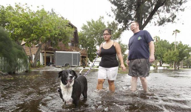 Touristengebiete in Florida von Wirbelsturm betroffen (Foto)
