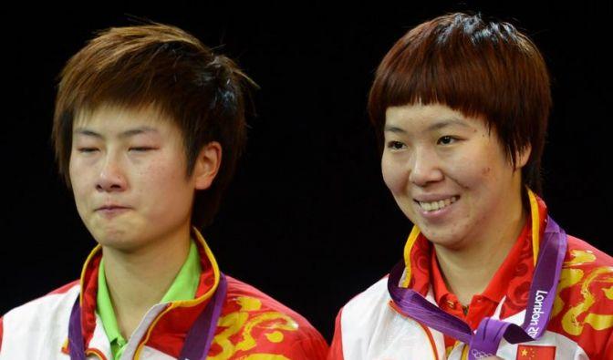 Tränen im Finale: Chinas Weltmeisterin verpasst Gold (Foto)
