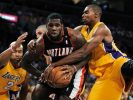 Trail Blazers Lakers Basketball (Foto)