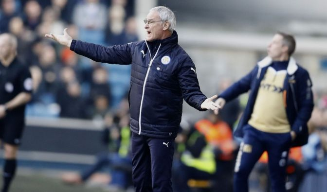 Trainer Claudio Ranieri tritt mit Leicester beim FC Sevilla an. (Foto)