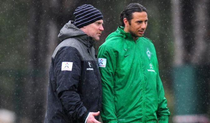 Trainer Schaaf fordert schnelle Pizarro-Entscheidung (Foto)