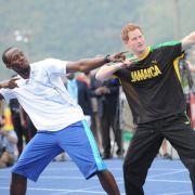 Hochzeit bald in Sicht? Usain Bolt will Harrys letzte Party planen (Foto)