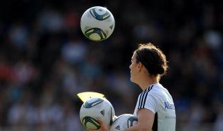 Training der deutschen Nationalmannschaft der Frauen (Foto)
