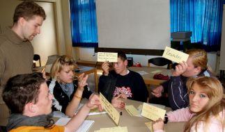 Training für Hauptschüler (Foto)
