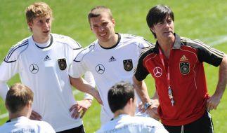 Trainingslager deutsche Fussball-Nationalmannschaft (Foto)