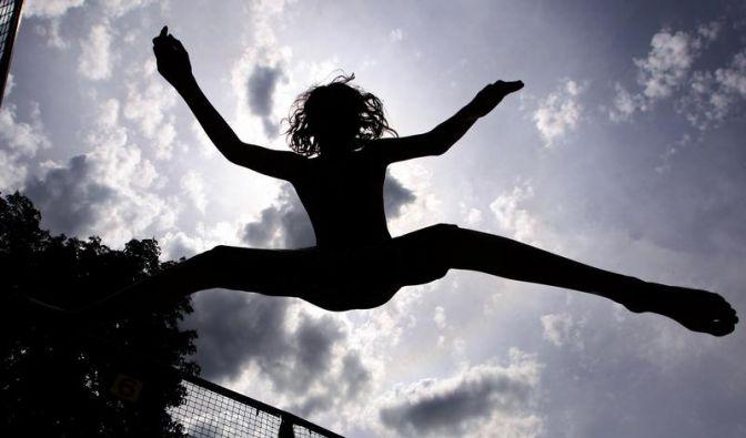 Trampolintraining macht fit und glücklich (Foto)