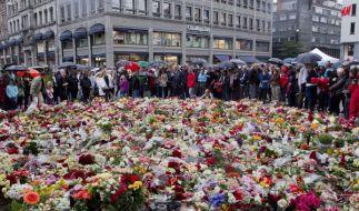 Trauer in Norwegen (Foto)