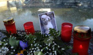 Trauer um den Eisbären Knut (Foto)