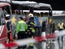 Trauer und Bestürzung nach Busunglück mit 13 Toten (Foto)