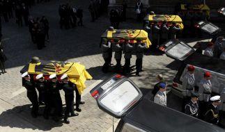 Trauerfeier für Afghanistan-Gefallene (Foto)