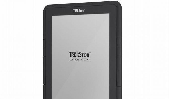 Trekstor bringt günstigen Reader mit E-Papier (Foto)
