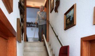 Treppenlift für Alte und Behinderte (Foto)
