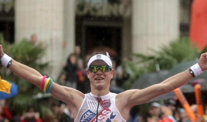 Triathlet Raelert gewinnt EM-Titel mit Streckenrekord (Foto)