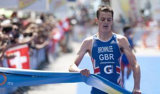 Triathlon: Brownlee erneut Sprint-Weltmeister (Foto)