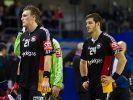 Trickwurf-Verbot für Handballer gegen Mazedonien (Foto)
