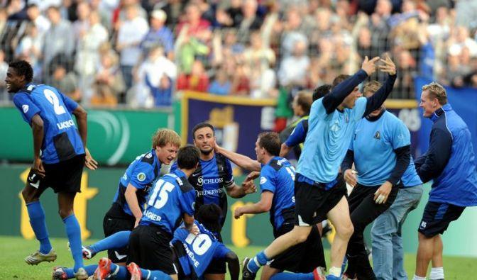 Trier feiert Pokal-Party gegen Hannover (Foto)