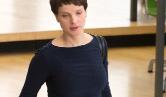 Trotz Baby will Frauke Petry Wahlkampf machen. (Foto)