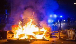 Trotz Ende des G20-Gipfels gingen die Krawalle weiter. (Foto)