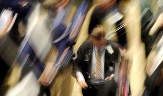Trotz Finanzkrise: Kühlen Kopf bewahren. (Foto)