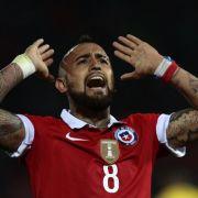 Fitgespritzt! FCB sorgt sich um Arturo Vidal (Foto)