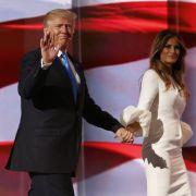 Trump muss die Nominierung am Donnerstag noch annehmen, eine Formsache. (Foto)