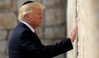 Trump will Jerusalem als Hauptstadt Israels anerkennen. (Foto)