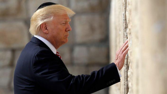 Trump will Jerusalem als Hauptstadt Israels anerkennen.