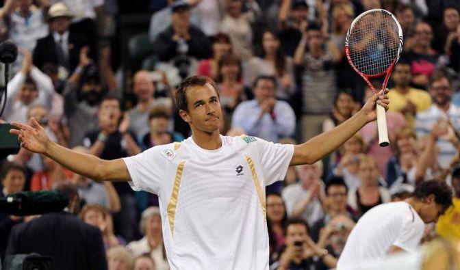 Tschechischer Nobody Rosol düpiert Superstar Nadal (Foto)