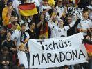 Tschüss Maradona (Foto)