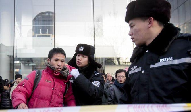 Tumulte bei Verkaufsstart des iPhone 4S in China (Foto)