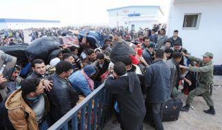 Tunesische Grenze (Foto)