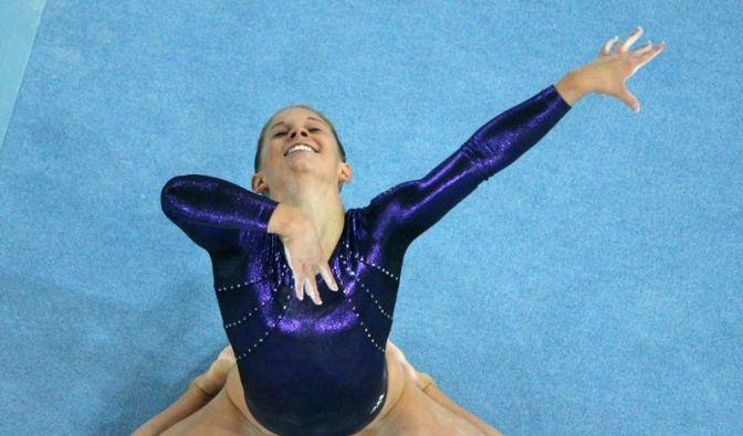 Turn-Olympiasiegerin Johnson beendet Karriere (Foto)
