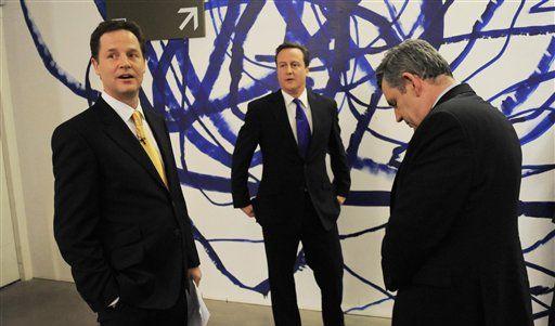 TV-Debatte Großbritannien (Foto)