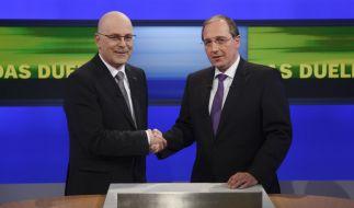 TV-Duell der Schleswig-Holsteinischen Spitzenkandidaten (Foto)