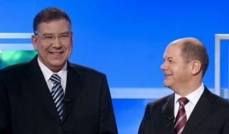 TV-Duell vor Hamburger Buergerschaftswahl (Foto)