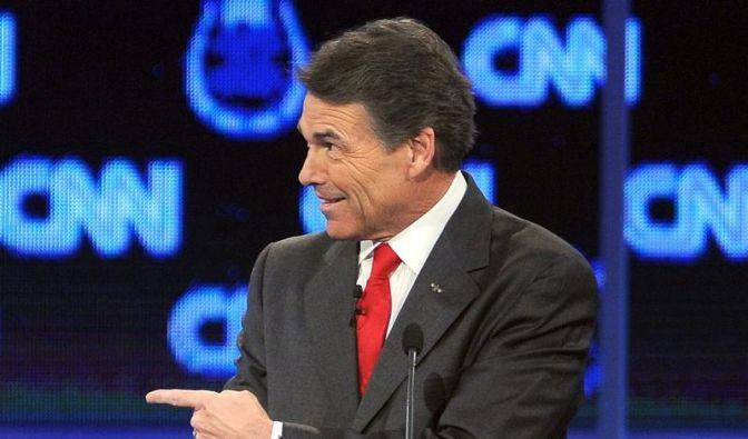 TV-Panne von Präsidentschaftsbewerber Perry (Foto)