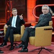 «Brauchen wir den Euro wirklich?»: Das Thema bei Günther Jauch war ernst. Gelacht wurde trotzdem.