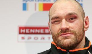Tyson Fury gibt sich siegessicher: Klitschko sei auch nur ein Mensch! (Foto)