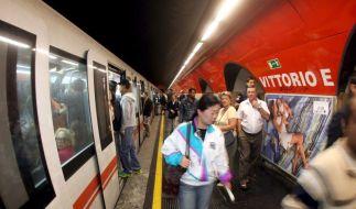U-Bahn in Rom (Foto)