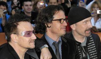 U2 erlebt Berlin-Romanze in «From the Sky Down» neu (Foto)