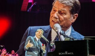 Udo Jürgens im Jahr 2014 bei einem Konzert in Stuttgart. (Foto)