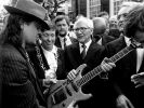 Udo Lindenberg und Erich Honecker (Foto)