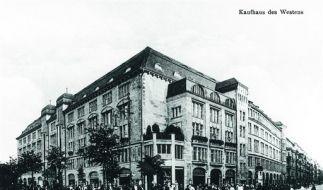 Über 100 Jahre Kaufhausgeschichte. (Foto)