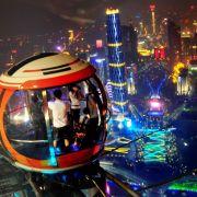 Über den Dächern Chinas: Vom Canton Tower in Guangzhou genießen Besucher einen traumhaften Ausblick.