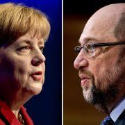 Über die Hälfte der Wähler wünschen sie eine CDU-Regierung, allerdings verliert Angela Merkel Sympathiepunkte. (Foto)