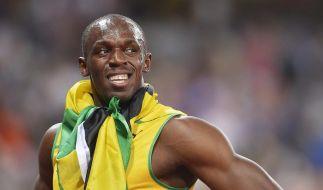Über Liebe und Legenden: Usain Bolt am Mikrofon (Foto)