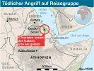 Überfall auf Touristen in Äthiopien: Zwei Deutsche getötet (Foto)