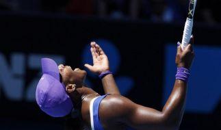 Überraschend frühes Aus für Serena Williams (Foto)