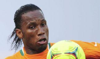 Überraschungen beim Afrika-Cup - Drogba trifft (Foto)
